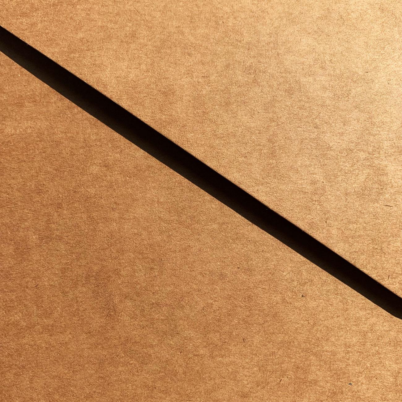 Schwartz Klettpunkt Mappe, packpapierbraun,