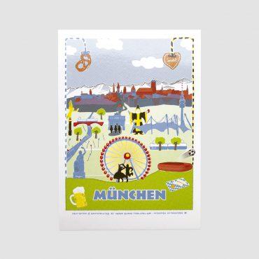 SEÑOR BURNS – Postkarte MÜNCHEN