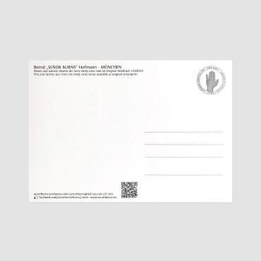 SEÑIOR BURNS – Postkarte MÜNCHEN
