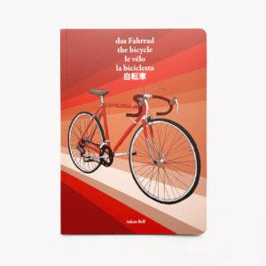 Übersetzungsbuch, das Fahrrad, illustriert, zweifarbig gedruckt,