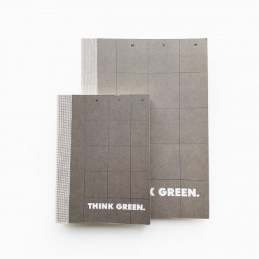 ECOBRIDGE – Jahresplaner THINK GREEN DIARY M