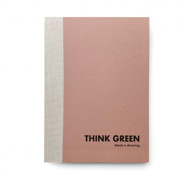 ECOBRIDGE – Notizbuch THINK GREEN #4 L