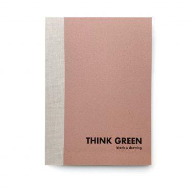 ECOBRIDGE – Notizbuch THINK GREEN #4 L
