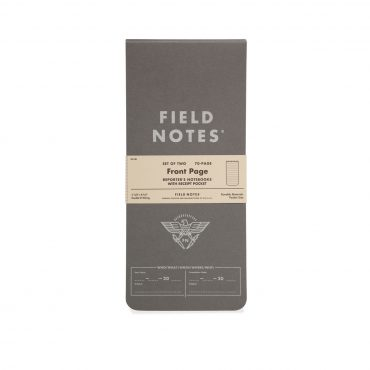FIELD NOTES – FRONT PAGE