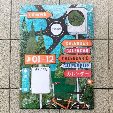 UMWERK – immerwährender Kalender zum Thema Fahrrad