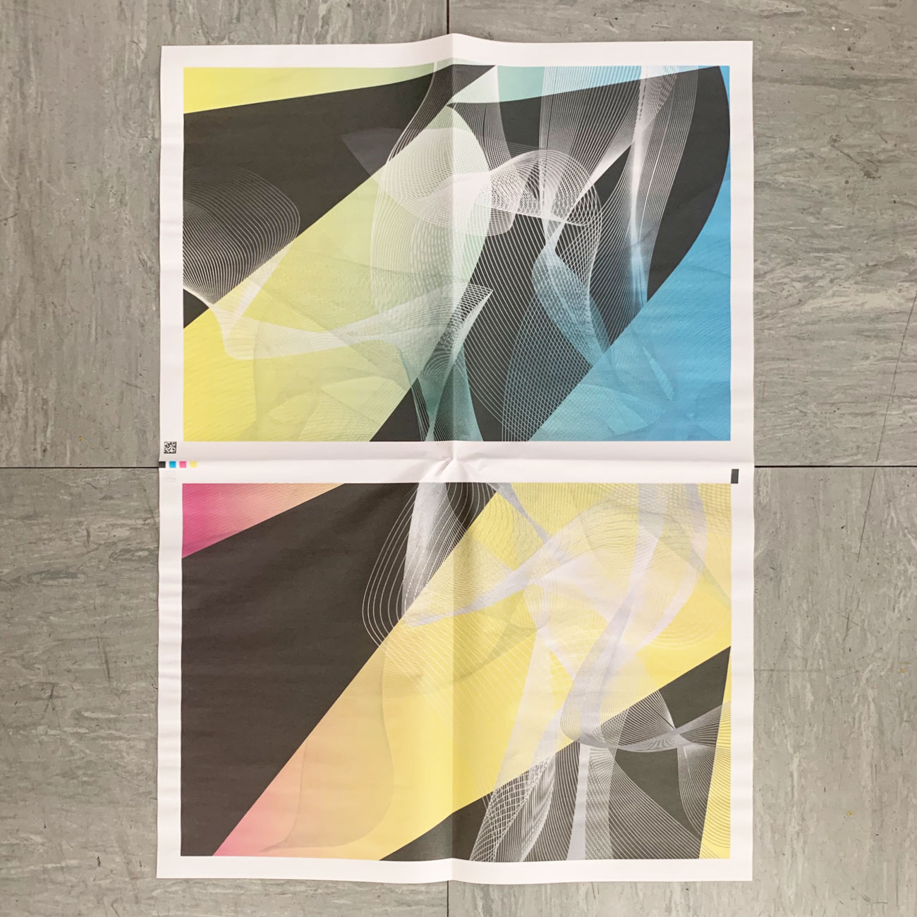 Einpackpapier, Februar, Muster, schwarz, Verlauf, grafisch,