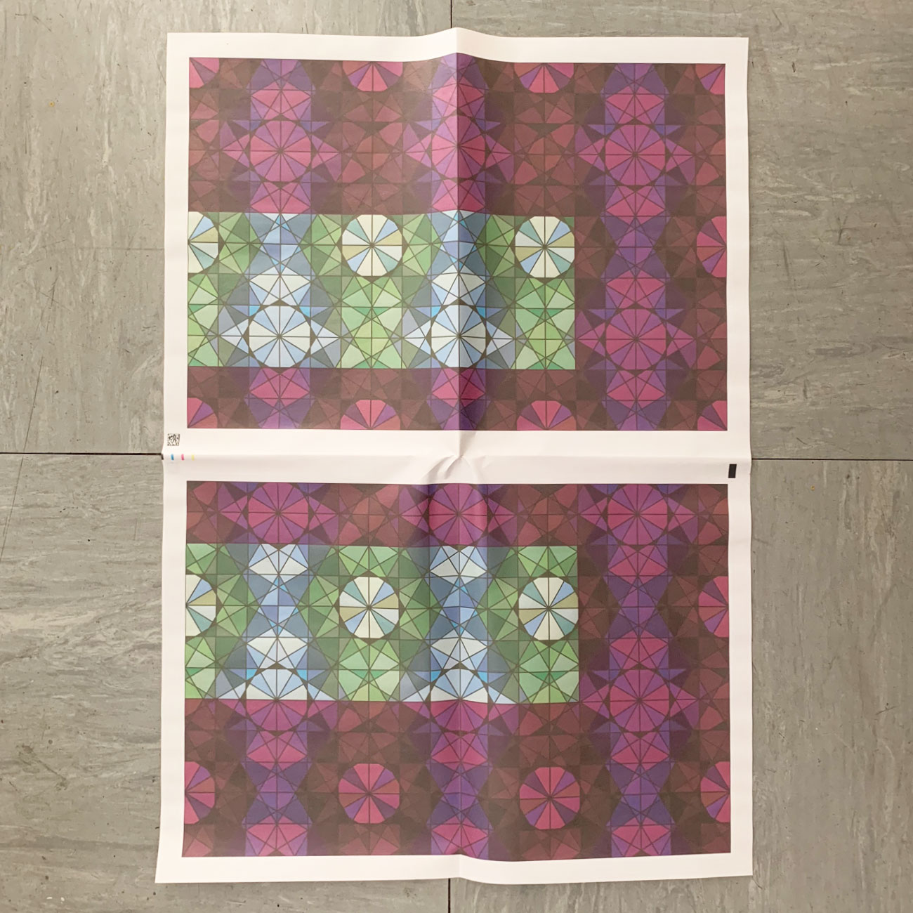 Einwickelpapier, März, 3, Muster, Umwerk-made,
