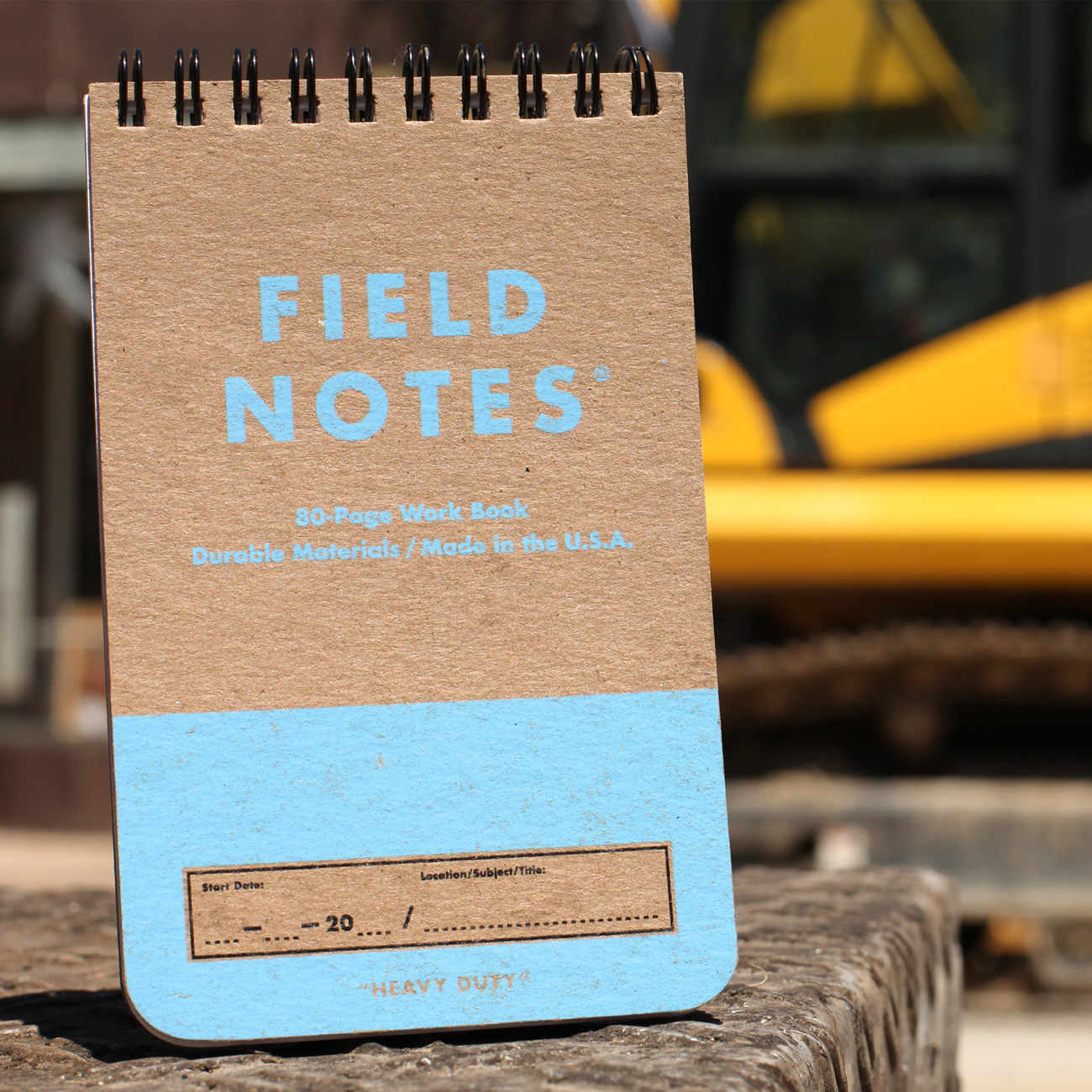 Field Notes, Heavy Duty, Schreibblock, blau
