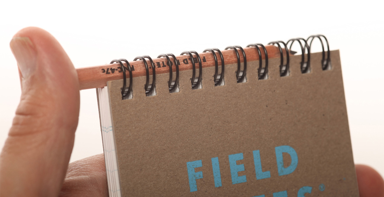 Field Notes, Heavy Duty, Schreibblock, mit Stift