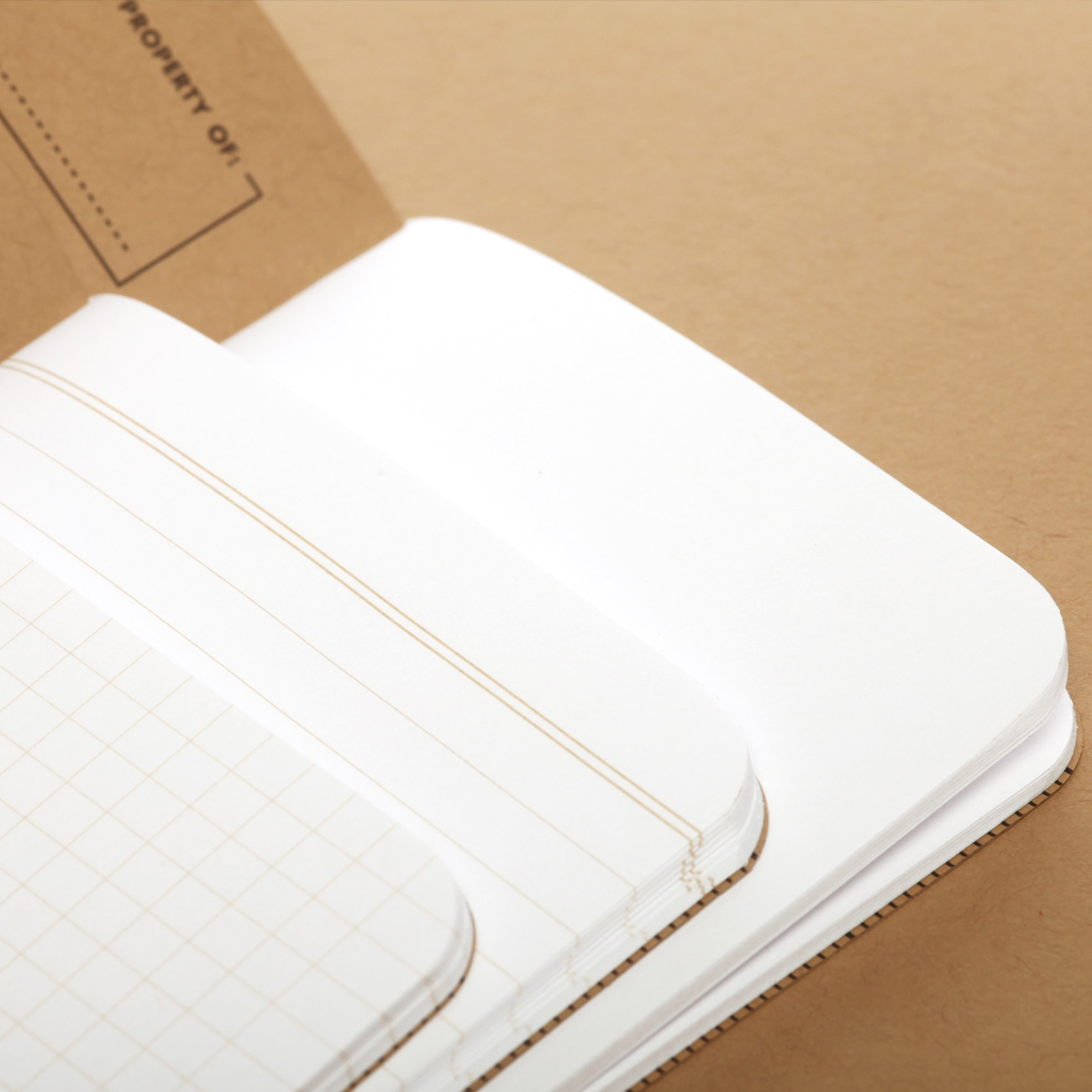 Field Notes, Notizhefte, Original, offene Hefte