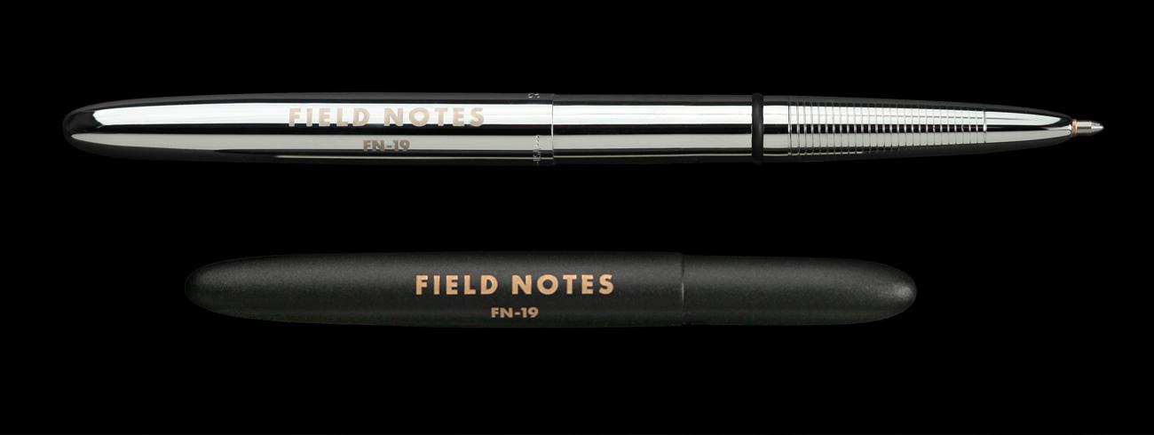 Field Notes, Spacepen, Kugelschreiber, matt schwarz und chrom,