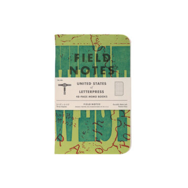 FIELD NOTES – UNITED STATES OF LETTERPRESS