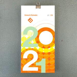 umwerk Kalender 2021, Postkarten, made in Munich,