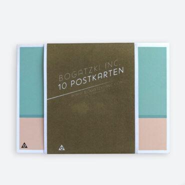 BOGATZKI – Postkartenset GRAFISCH