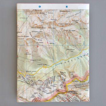 UMWERK – Notizbuch LANDKARTE 12 x 16,5