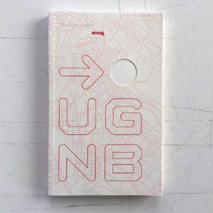 Urban Gridded Notebooks, Vienna, Notizheft mit Stadtplänen