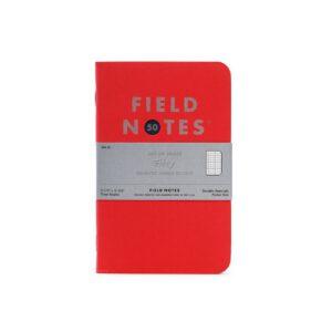 Field Notes, Fifty, 48 Seiten, Memo-Book, rotes Cover,