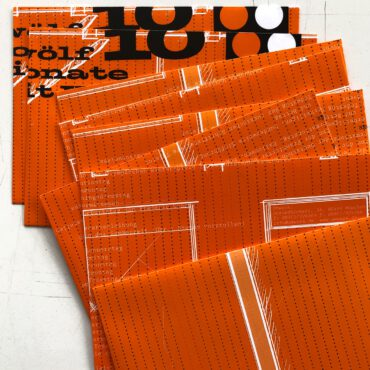 UMWERK – RECYCLING Kuverts orange 10er-Pack