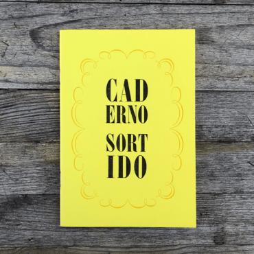 SERROTE – Notizbuch CADERNO SORTIDO gelb