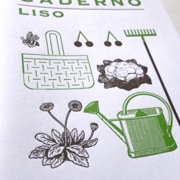 SERROTE – Notizbuch LISO  grün