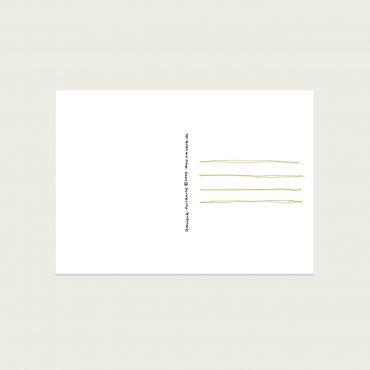 UMWERK – Postkarte ALLES GUTE