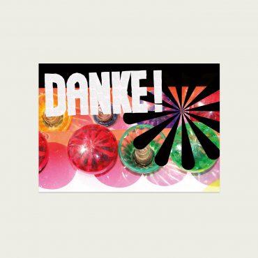 UMWERK – Postkarte DANKE!