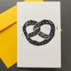 ELSIE WONG – Klappkarte BREZN-Linoldruck, handmade