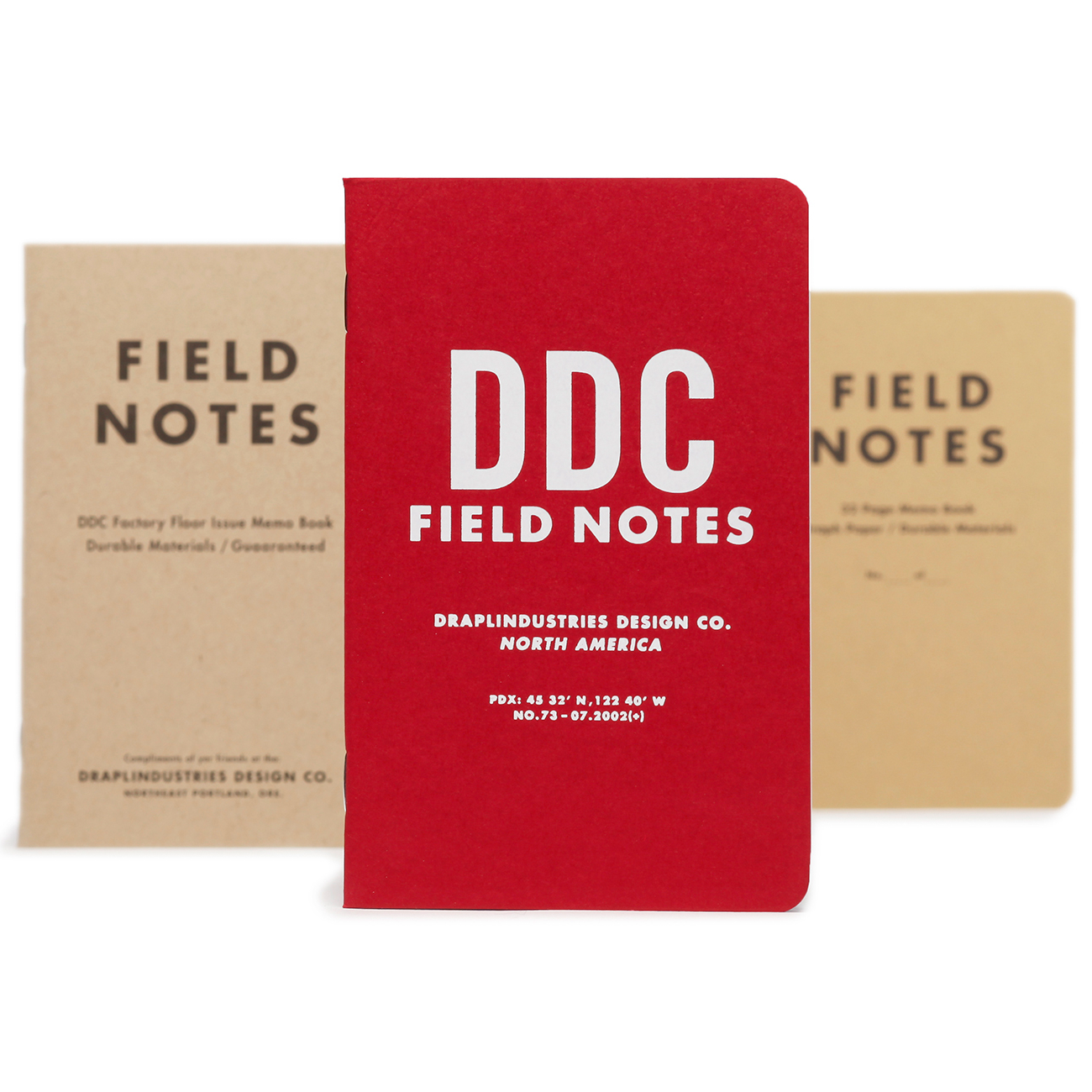 Field Notes, 10th Anniversary Edition, 3er Set Notizhefte,