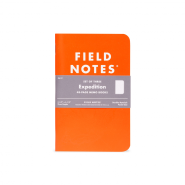 FIELD NOTES – EXPEDITION Edition