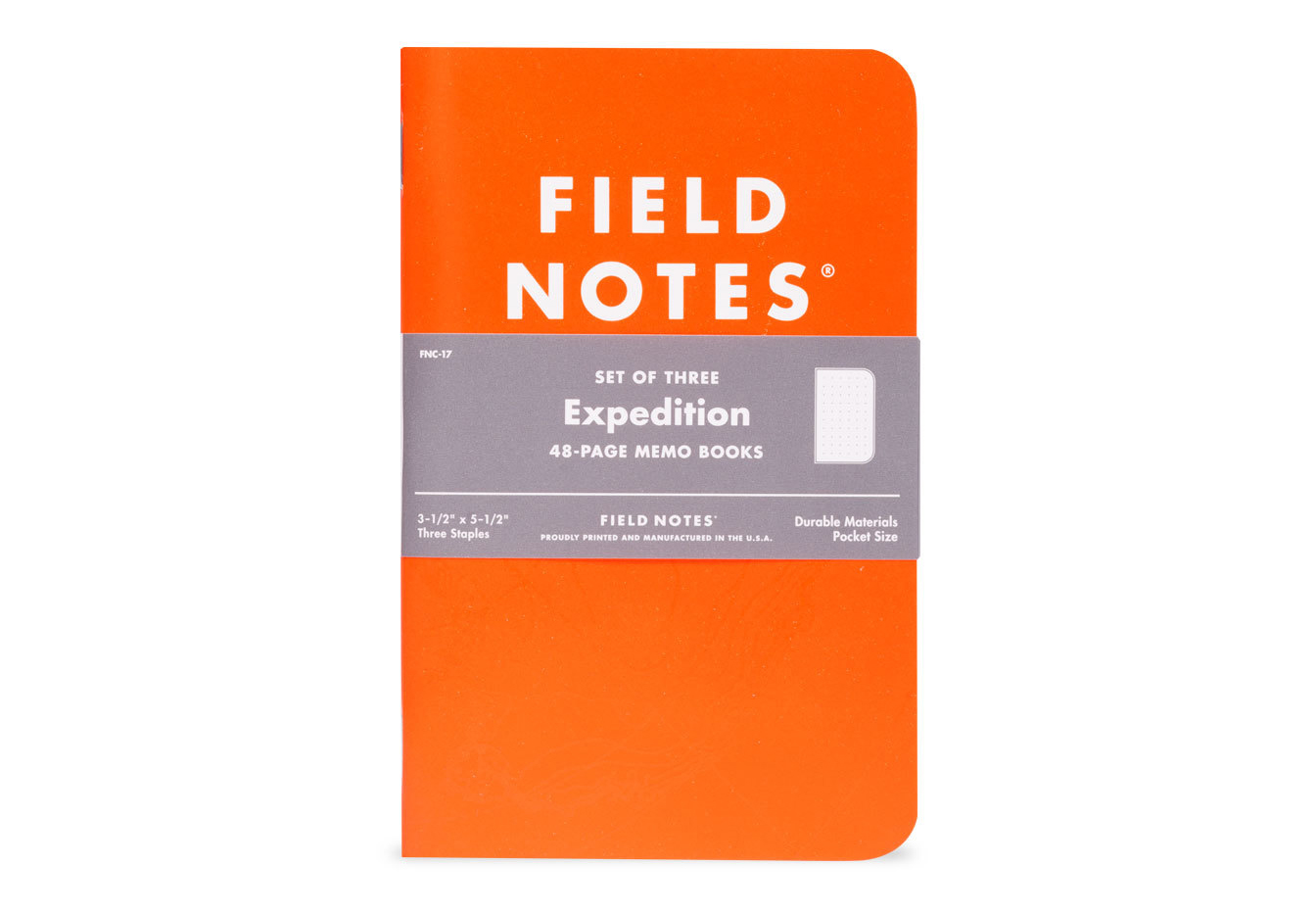 Field Notes Expedition Edition, orange, Notizhefte,