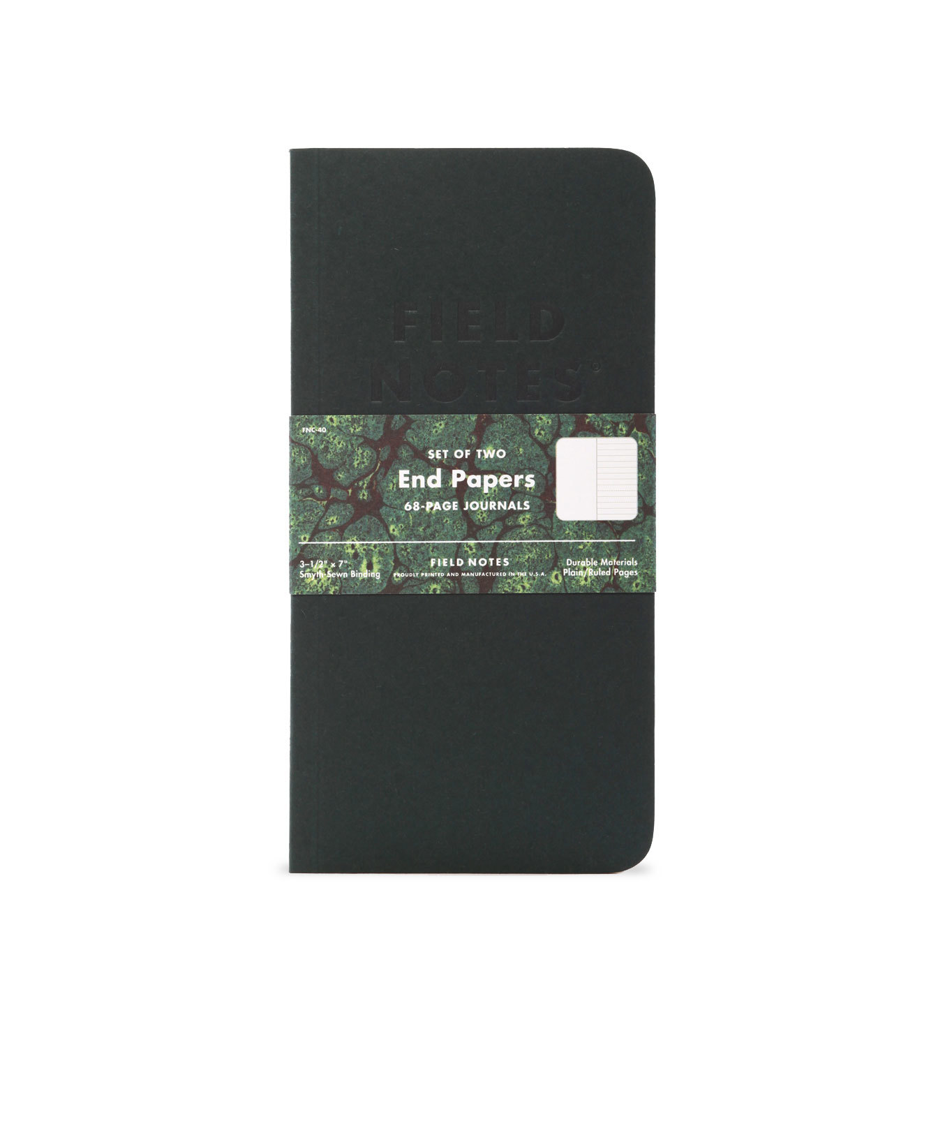Field Notes, End Papers, Edition, Vorsatz marmoriert, Notizhefte,