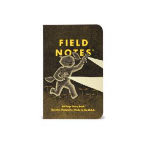 Field Notes, Haxley Edition, Notizhefte, illustriert, 2er-Pack,