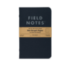 FIELD NOTES – PITCH BLACK Notebook 2er Pack