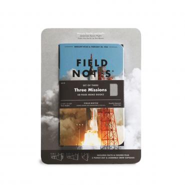 FIELD NOTES – THREE MISSIONS
