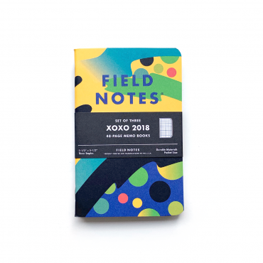 FIELD NOTES – XOXO 2018