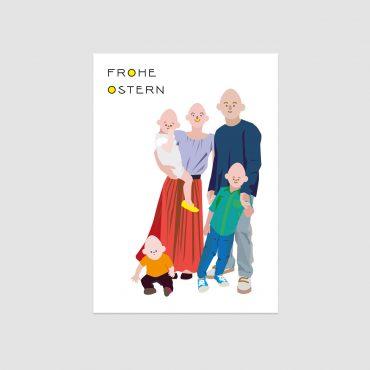 UMWERK – Postkarte FROHE OSTERN