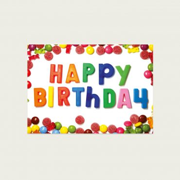 UMWERK – Postkarte HAPPY BIRTHDAY