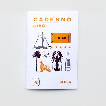 SERROTE – Notizbuch LISO  orange
