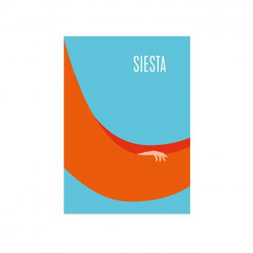 UMWERK – Postkarte SIESTA