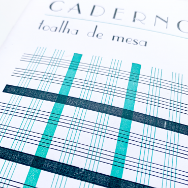SERROTE – Notizbuch TOALHA DE MESA  grün/schwarz