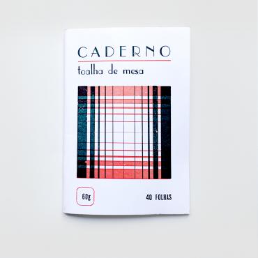 SERROTE – Notizbuch TOALHA DE MESA  rot/dunkelgrün